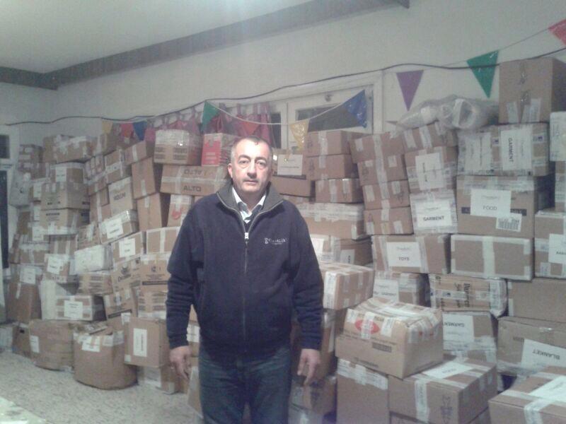 Spendeni n der Türkei