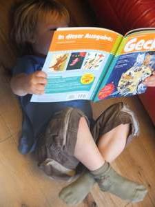 Gecko, die tolle Zeitschrift für Kinder