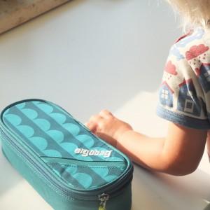 Ein Federmäppchen kommt gleich mit: Der Schulrucksack von ergobag