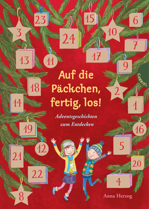 Auf die Päckchen, fertig, los! Adventsgeschichten zum Entdecken aus dem Gabriel Verlag