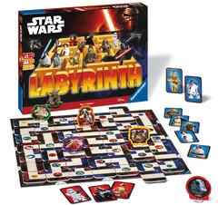 Kinder und Star Wars -  Labyrinth-Spiel