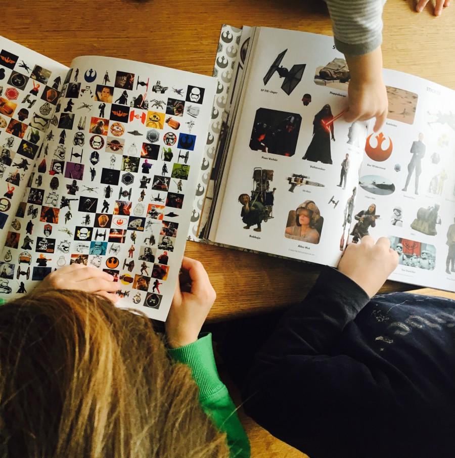 Alle lieben Star Wars - Und die Sticker-Bücher auch