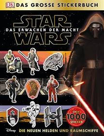 Star Wars Stickerbuch Helden und Raumschiffe