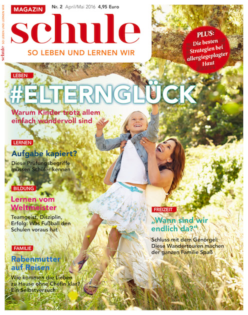 Magazin Schule Cover_Elternglück
